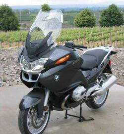 Laminar LIP spoiler, BMW R1200RT 2005-on
