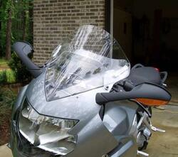 Laminar Lip spoiler, BMW K1200S 2005-on